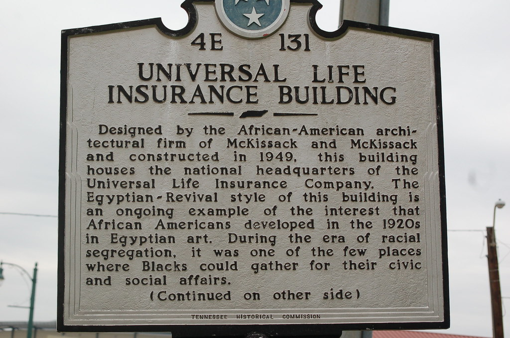 Memphis Historical Markers: The Universal Life Insurance B ...