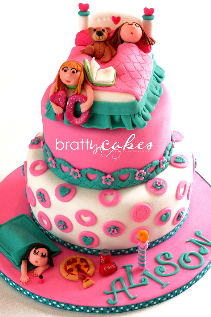 Southern Blue Celebrations Slumber Party Cake Ideas