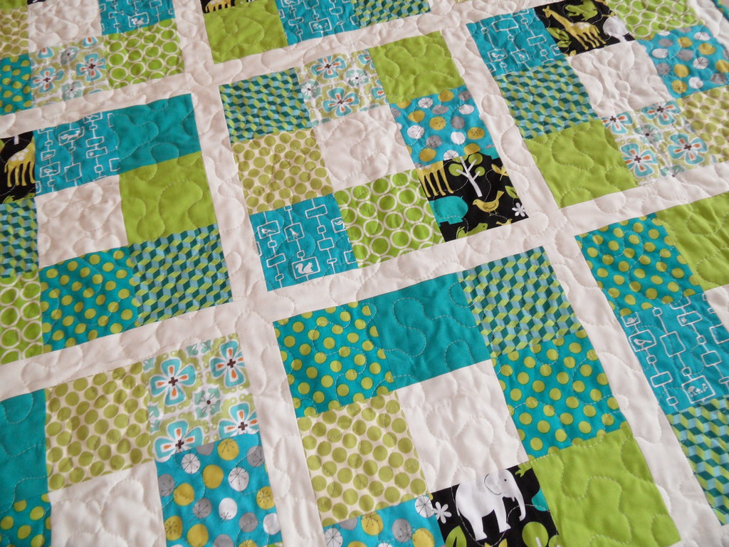 Baby Quilt Patterns For Boy : Baby boy quilt Custom made baby quilt, pattern and fabric ? Flickr
