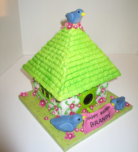 Bird House Cake | by RDPJCakes