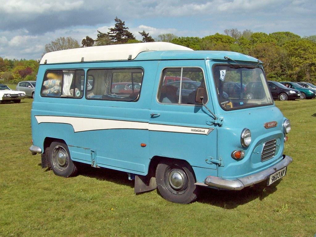 554 Morris J4 Dormobile 1960 74 Austin Morris J4