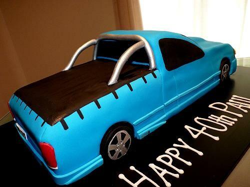 Ford Xr8 Ute Cake Chocolate Mud Cake Julie Flickr