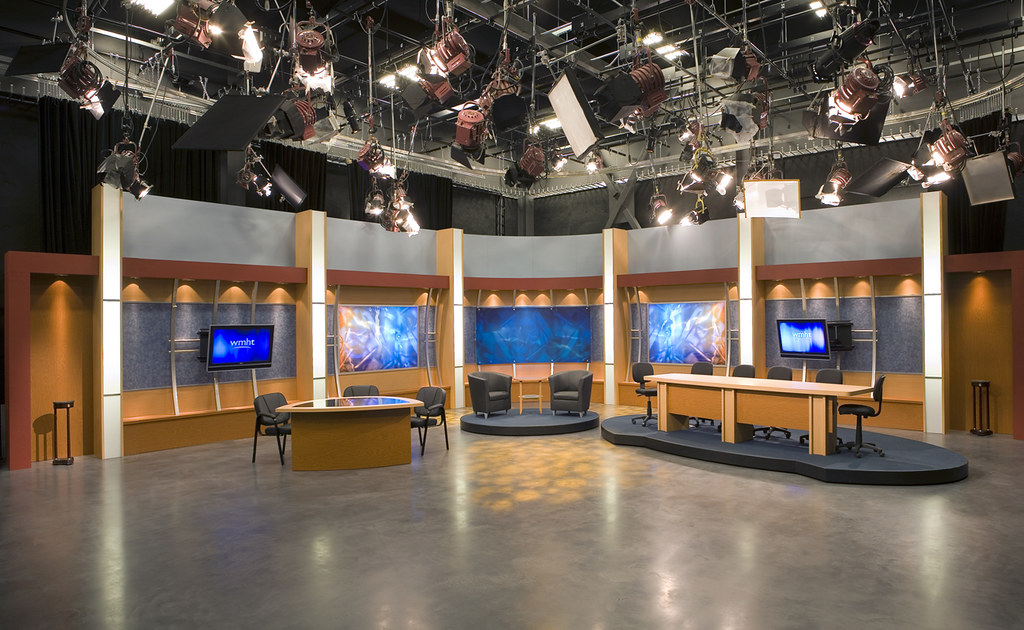 Wmht tv Studio Set |