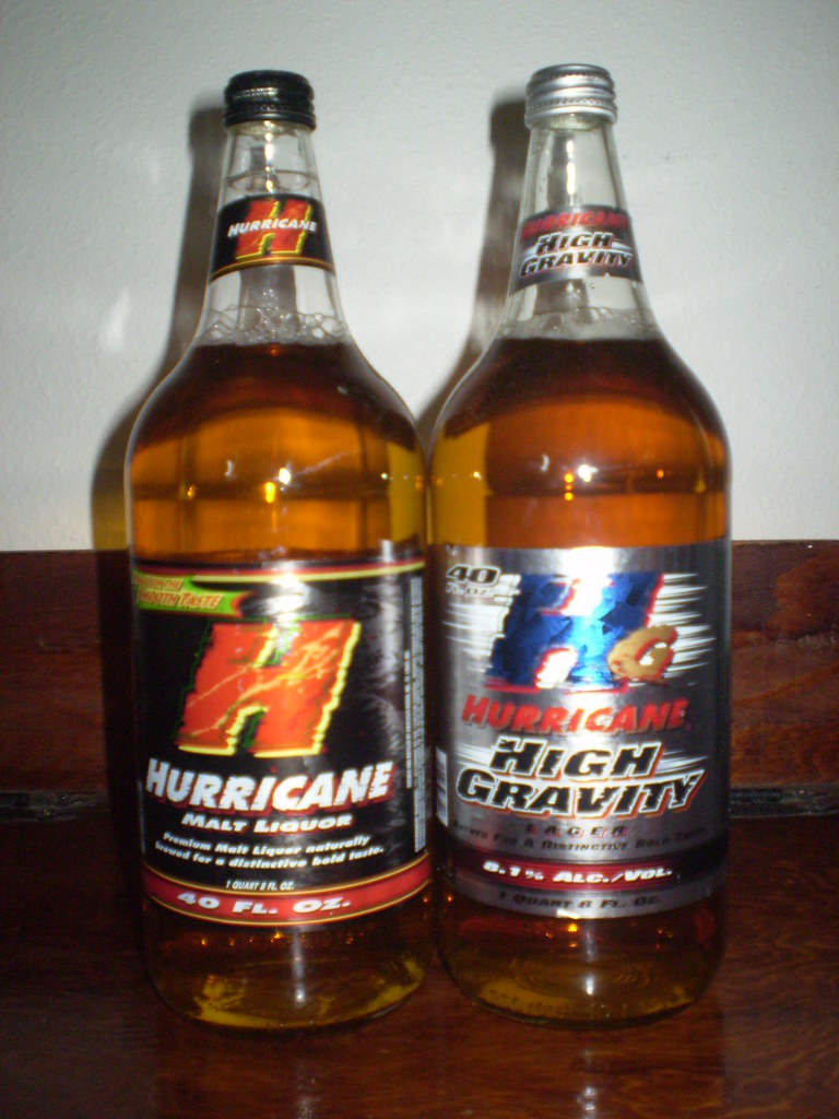 Hurricane Malt Liquor Amp Hurricane High Gravity Lager Flickr