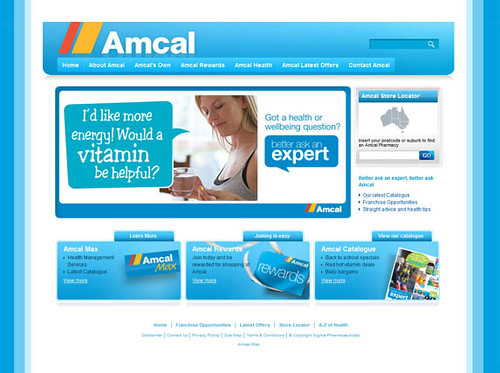 Amcal.com.au - relaunch | by NOW Digital