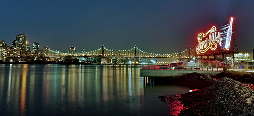 Pepsi Co Neon Sign and the Queensboro Bridge HDR | by 1982Chris911 (Thank you 5.500.000 Times)