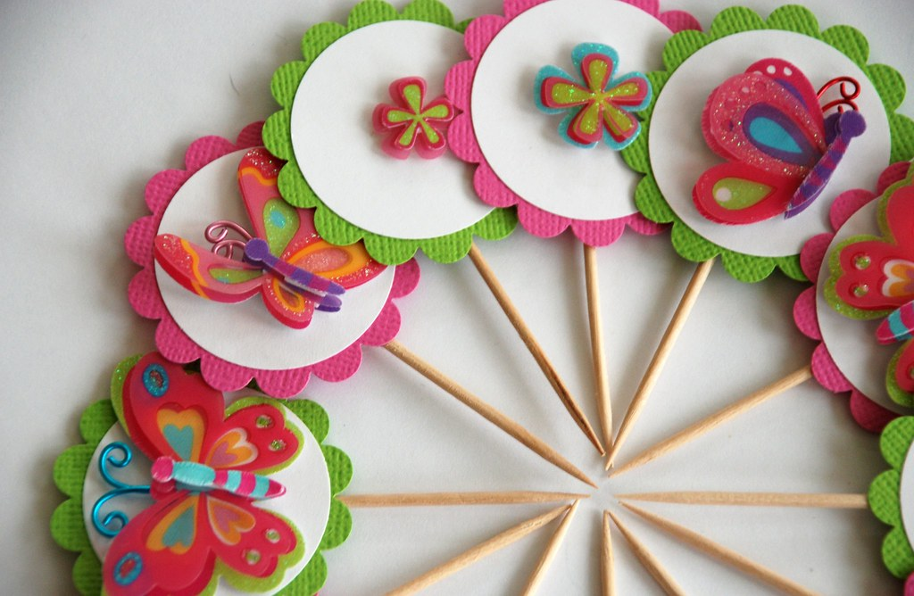 Butterfly Cupcake Toppers Cake Decorating