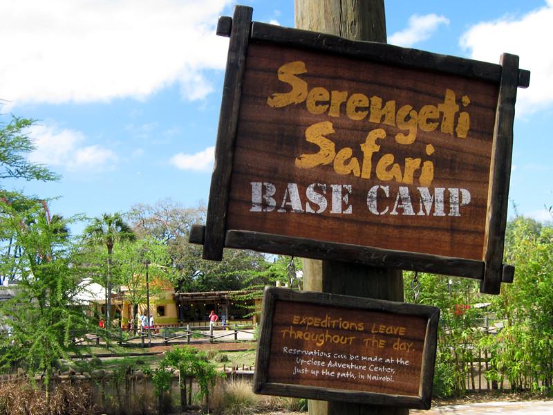 Serengeti Safari Base Camp Nairobi Busch Gardens Tampa