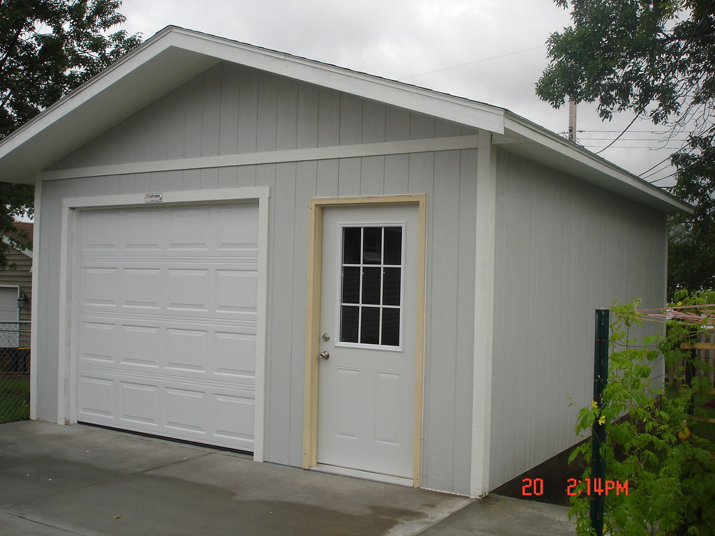 Sundance ranch garage here is a 16 foot wide single car 16 car garage