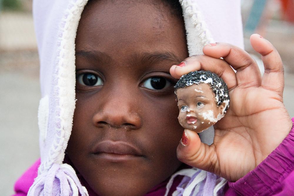 black baby jesus head lourdie macro march 14  20113