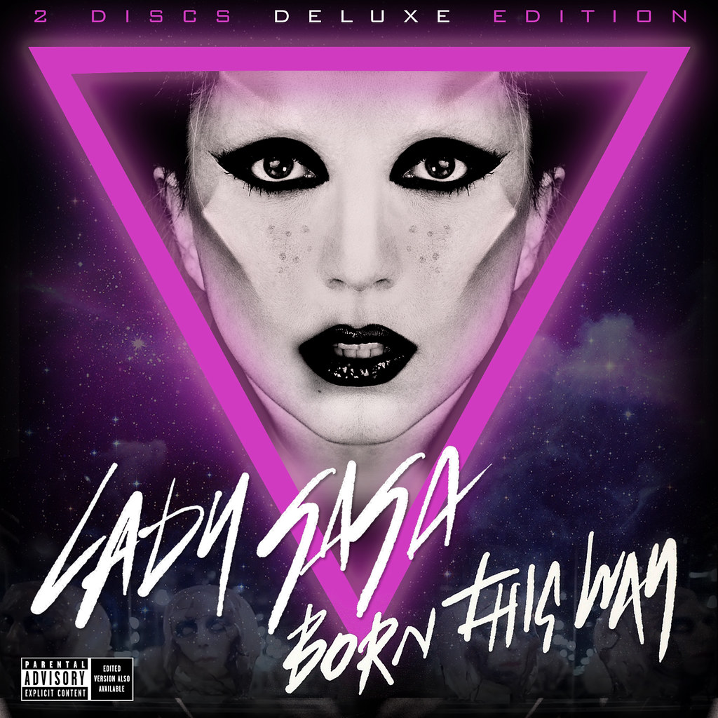 LADY GAGA Born This Way [deluxe Edition] Album Cover 2011