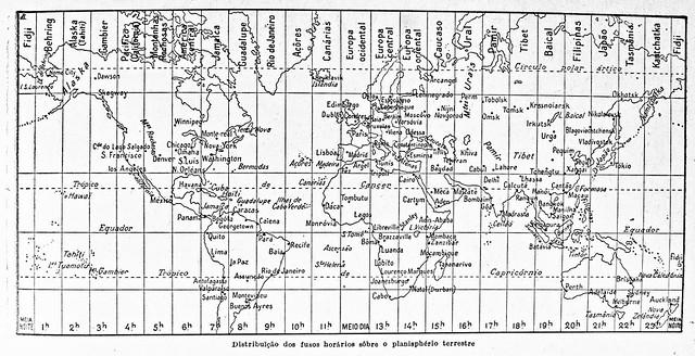 Huso horario en España y el mundo