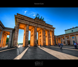 Sunset Gate (HDR) | by farbspiel
