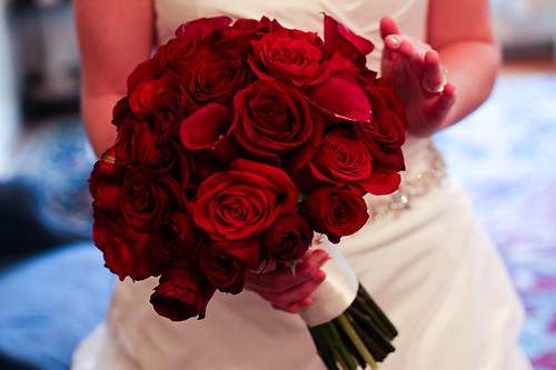 garden rose wedding bouquets aol image search results - Red Garden Rose Bouquet