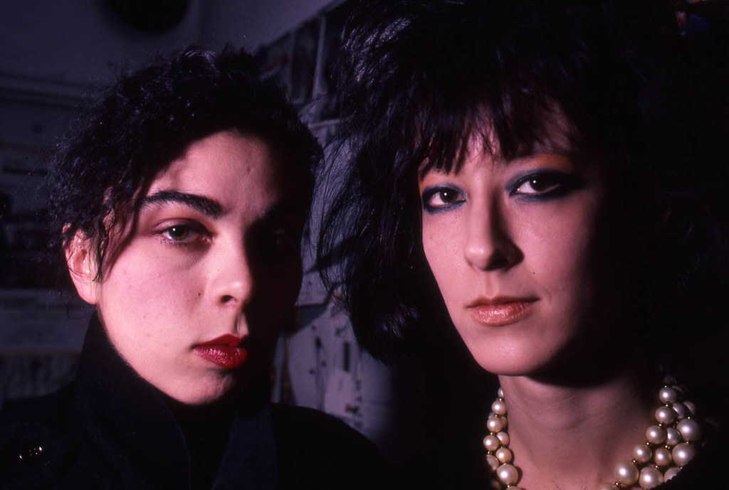 Suzanne Mallouk & Genevieve Reichle | At AREA NY 1983-87 ...
