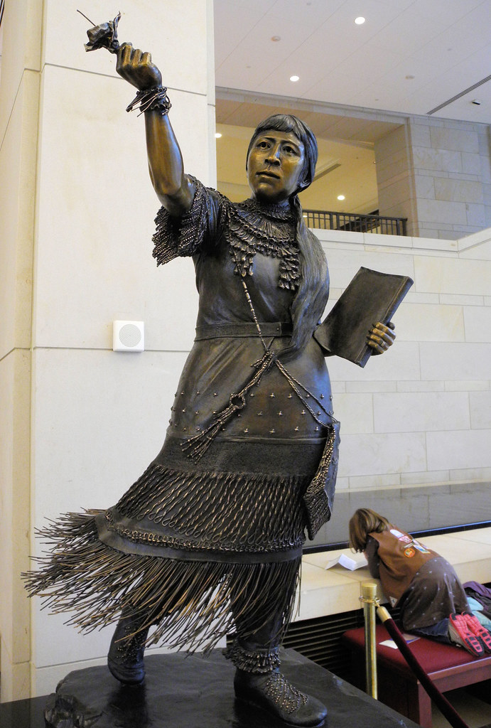 Sarah Winnemucca (Nevada) statue in the US Capitol Visitor ...