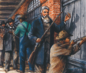 john browns raid on harpers ferry John brown was a 19th-century militant abolitionist known for his raid on harpers ferry in 1859 john brown was born on may 9, 1800, in torrington, connecticut, in a calvinist household and would.