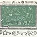 Back to School Sketchy Notebook Doodles Vector Illustration by Blue67Design