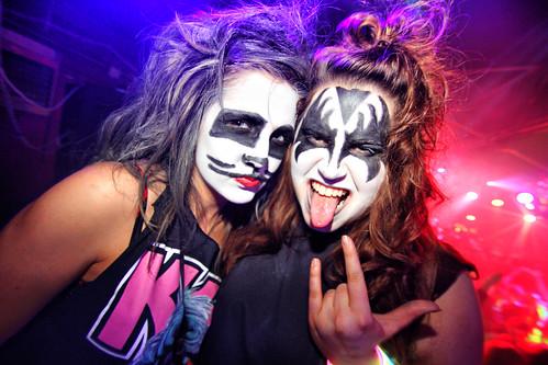 Amazing KISS Womens Starchild Costume  Womens KISS Halloween Costumes