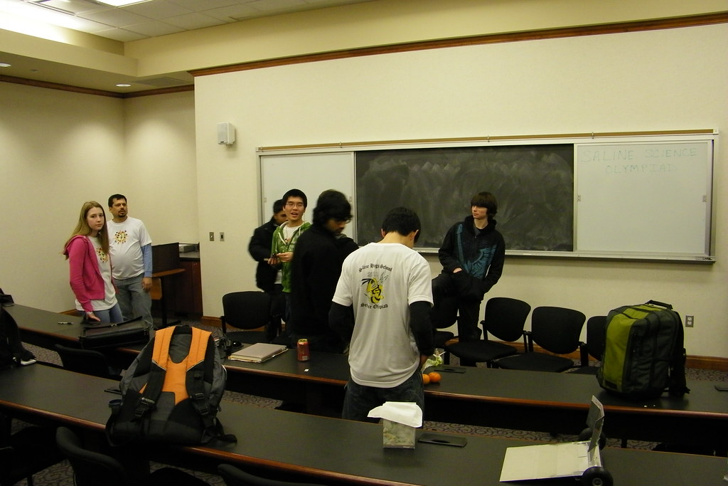 Saline High School's Science Olympiad Team at the 2011 Reg… | Flickr