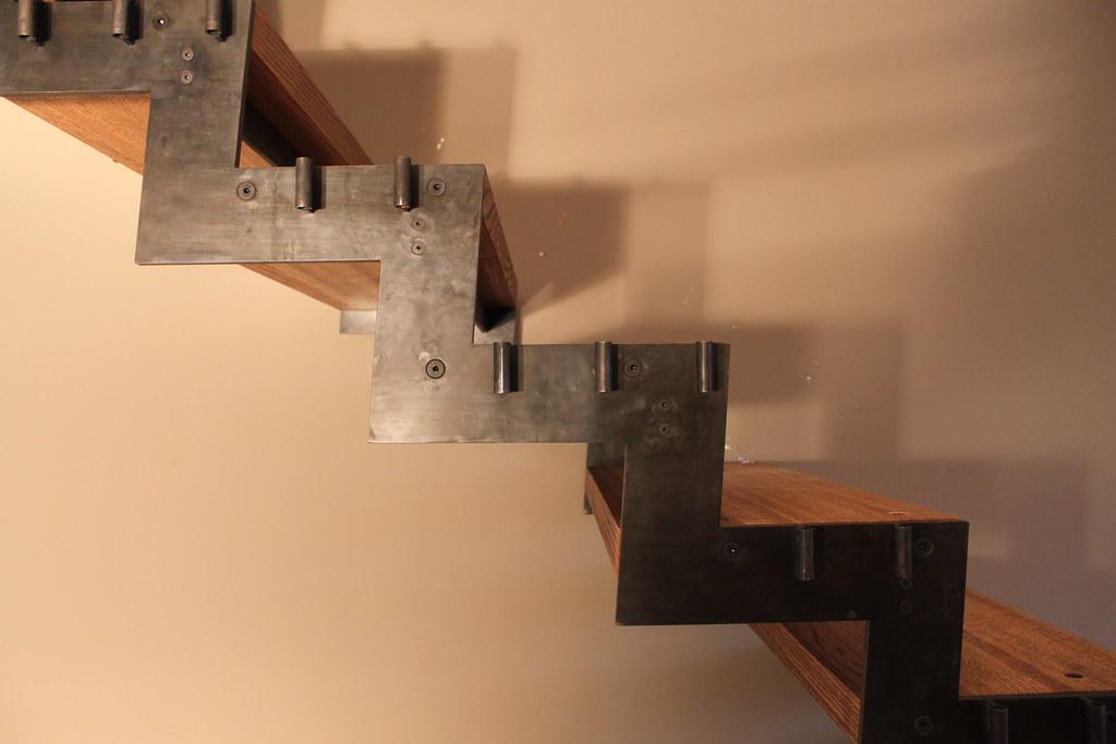 Tread Install Detail Caliper Studio Designed Fabricated