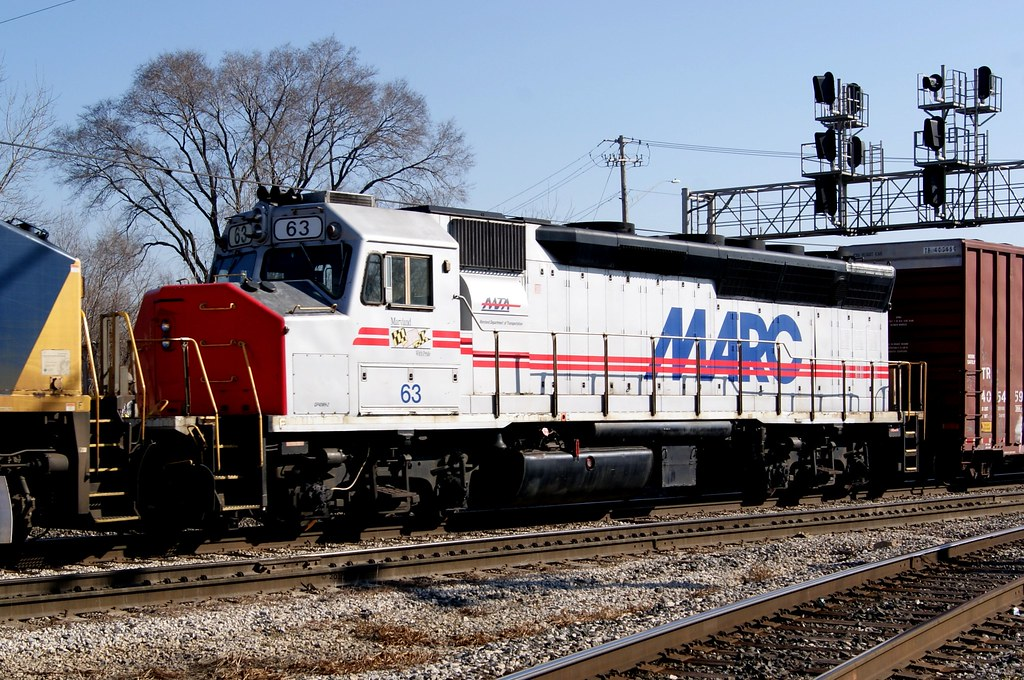 Marc Gp40 In Illinois Marc 63 Gp40wh 2 On The 3rd Of