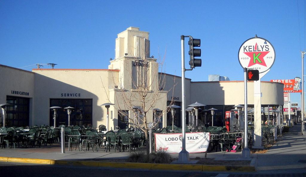 Ford Dealership Albuquerque >> former Jones Motor Company & Texaco gas station, now Kelly…   Flickr