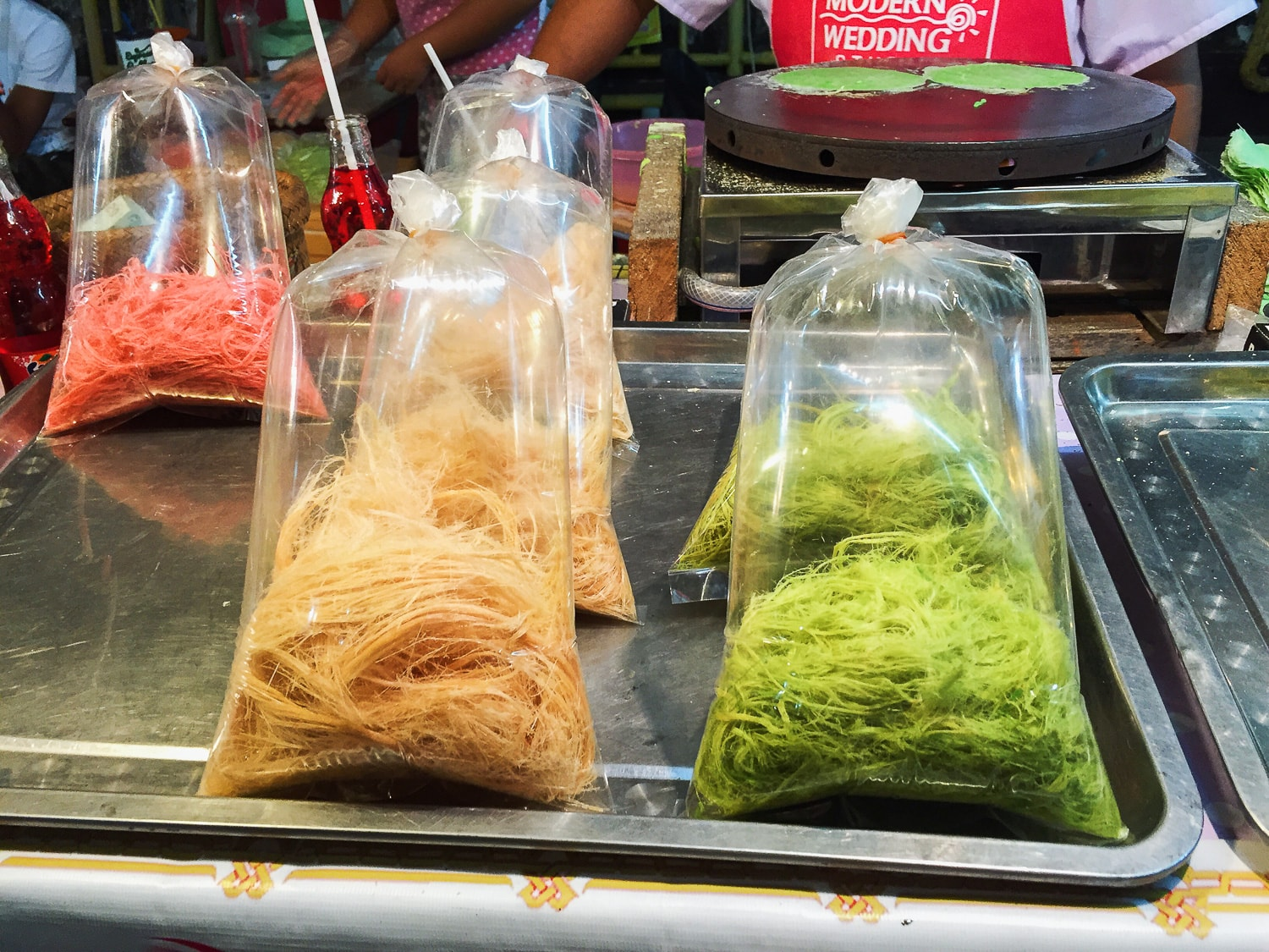 Vegan Roti Sai Mai from Ranong Road
