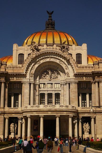 Mexico city palacio de bellas artes flickr photo for Palacio de los azulejos mexico