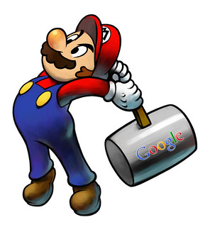 Google Hammer Mario Version | by rustybrick