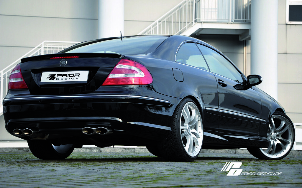 Prior design mercedes benz w209 clk 430 55 amg aerodynamic for 2010 mercedes benz clk350