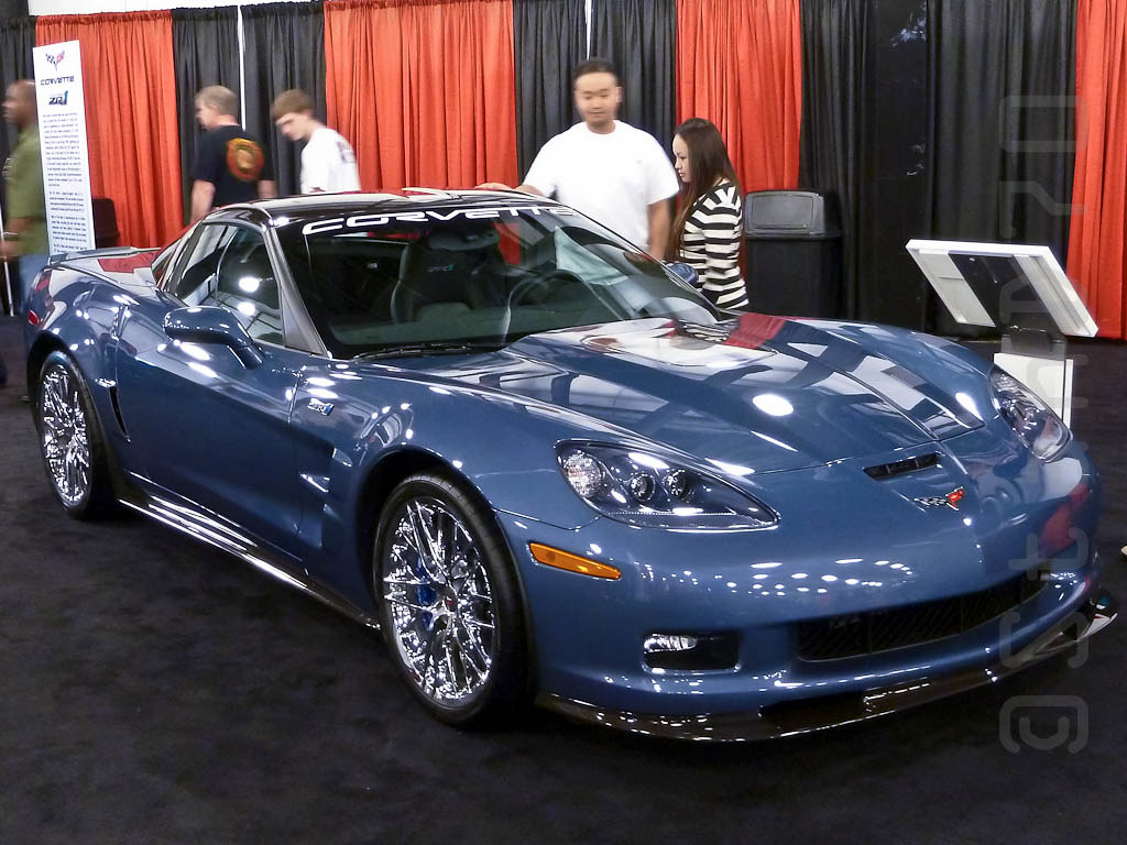 2011 Corvette ZR1 | 2011 Corvette ZR1 in Supersonic Blue ...