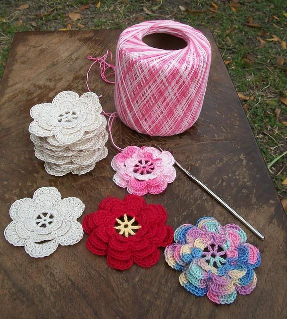 Thread Crochet Flowers Flickr - Photo Sharing!
