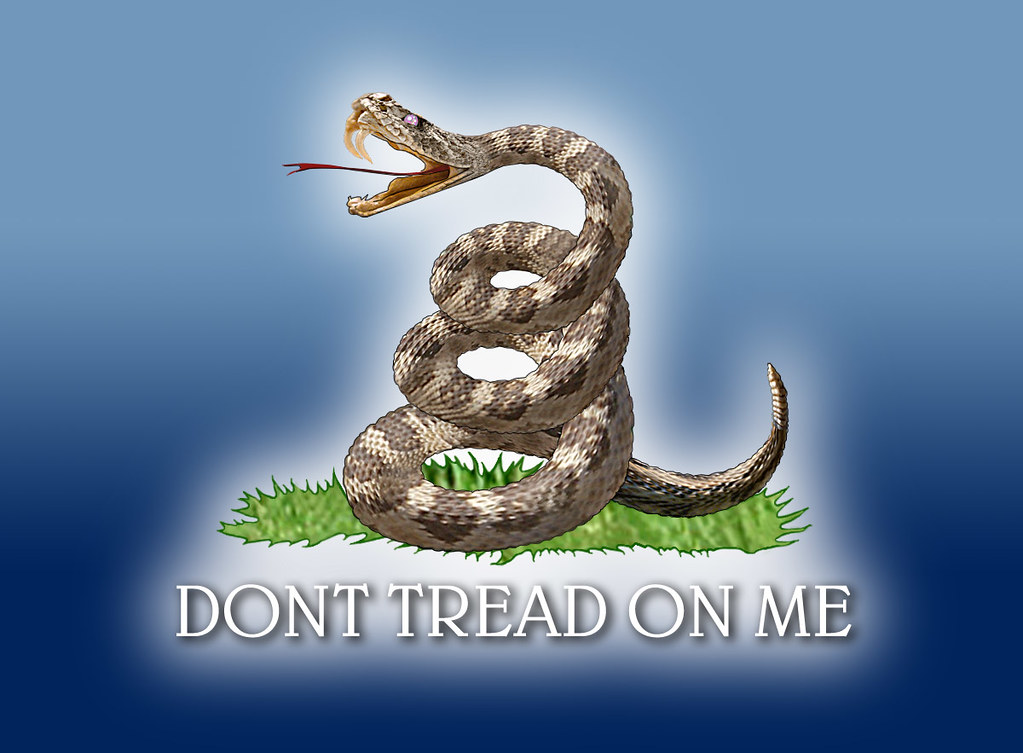Dont Tread On Me Part Of A Series Based On The Quot Gadsden
