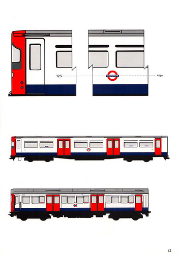 London Underground - standard train livery layout | Flickr - Photo ...
