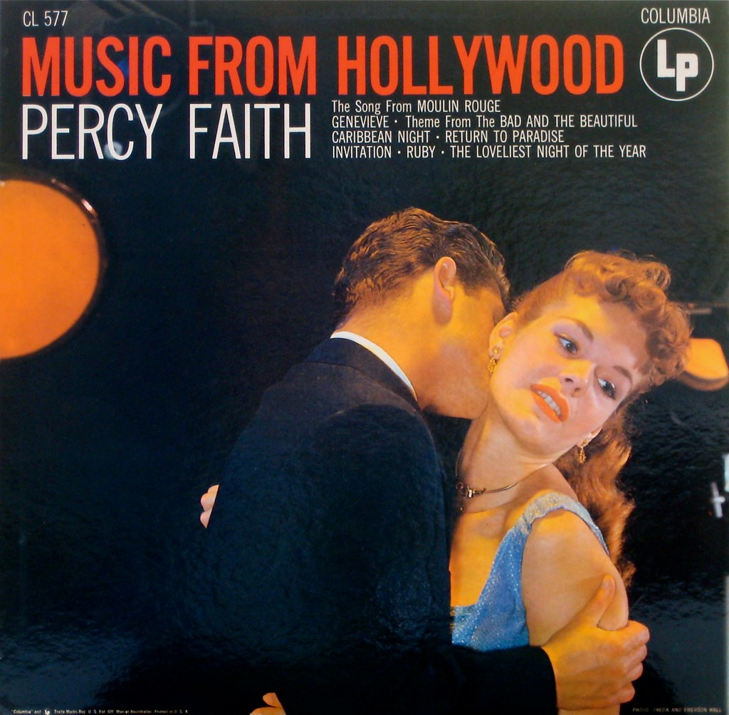 Music from Hollywood — Percy Faith | Flickr - Photo Sharing!: https://www.flickr.com/photos/johnpurlia/5495544679