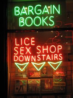 Lice sex shop in Charing Cross Road | by CabbieBlog