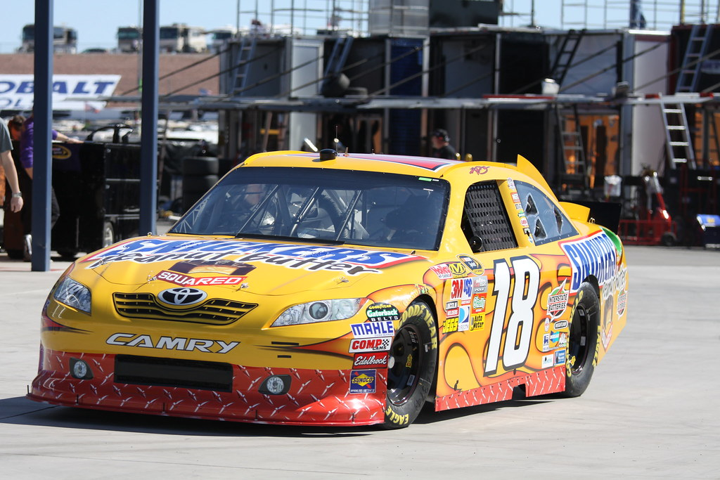 2011 kyle busch 18 snickers peanut butter toyota camry flickr. Black Bedroom Furniture Sets. Home Design Ideas