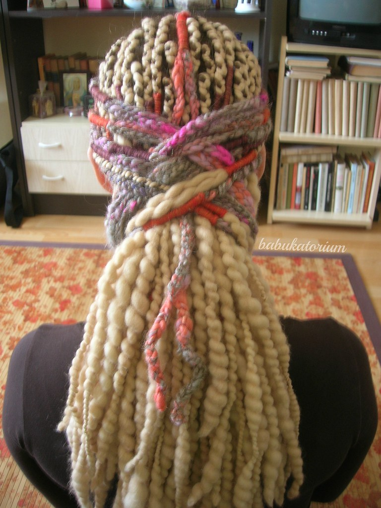 Crochet New Dreads : Pastel Multicolor Crochet Dreads With Blonde Wool Dreadloc? Flickr