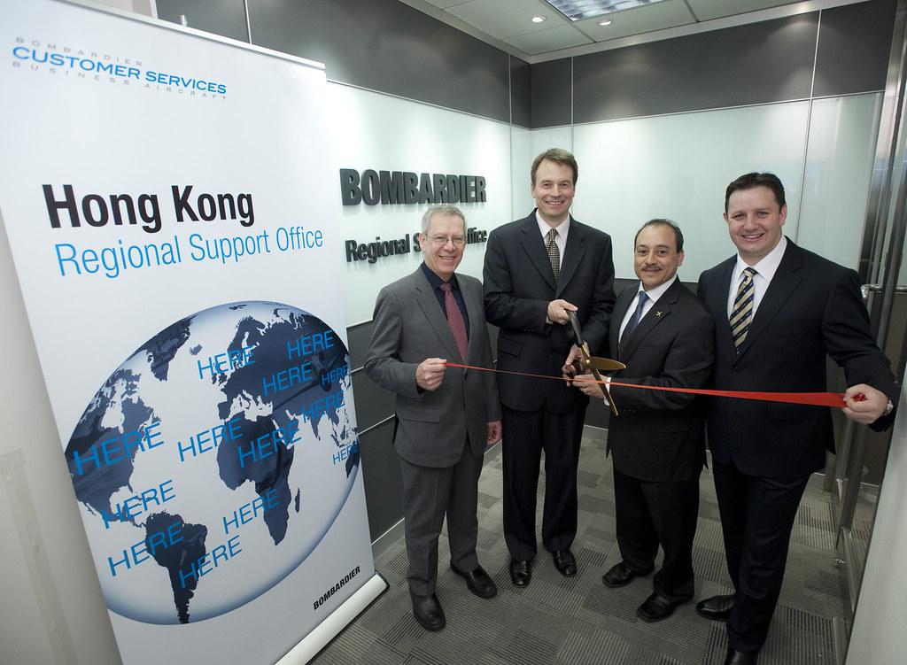 Office Chair Back Support Hong Kong: New Bombardier Hong Kong Regional Support Office