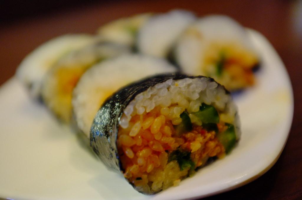 Korean Fast Food Kimbap