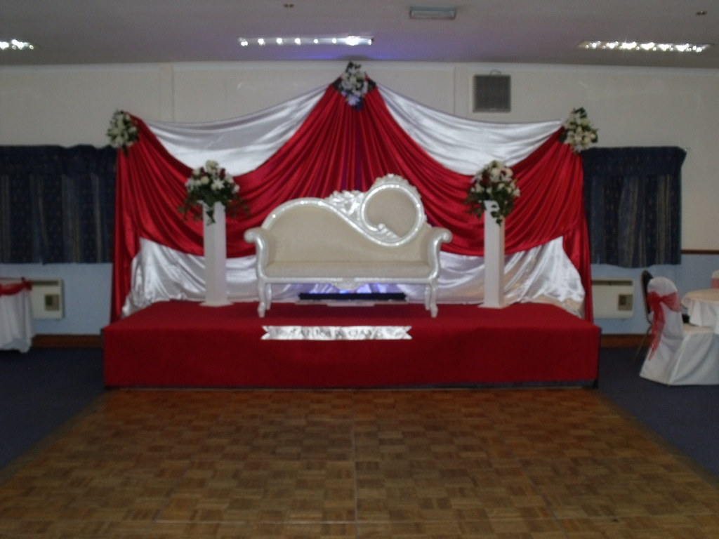 Asian Wedding Stage Decoration We At Party Balloons 4