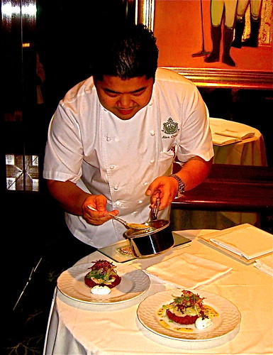 Chef Alex at BevHills Hotel | by jayweston@sbcglobal.net