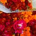 Flowers for sale, Pushkar
