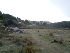 A l'extrémité du plateau herbeux de Bitalza
