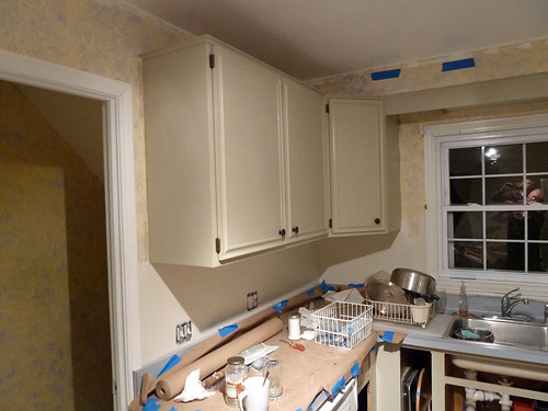 Image Result For Painting Kitchen Cabinets White