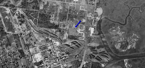 Starlite Drive-In aerial photo 1951 | by OzonerGPS