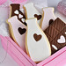 "Neapolitan Milk & Chocolate Bar ""Puzzle"" Cookies"