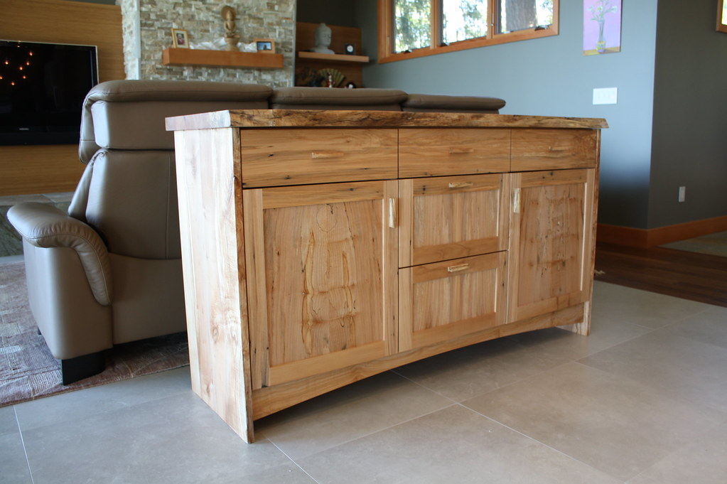 Live edge spalted maple buffet smith vallee flickr