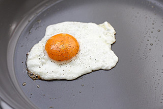 fried egg | by David Lebovitz